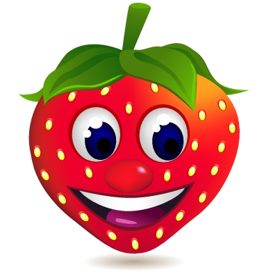 strawberry cartoon vector Health Benefits of Strawberries