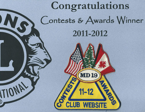Club Website Award
