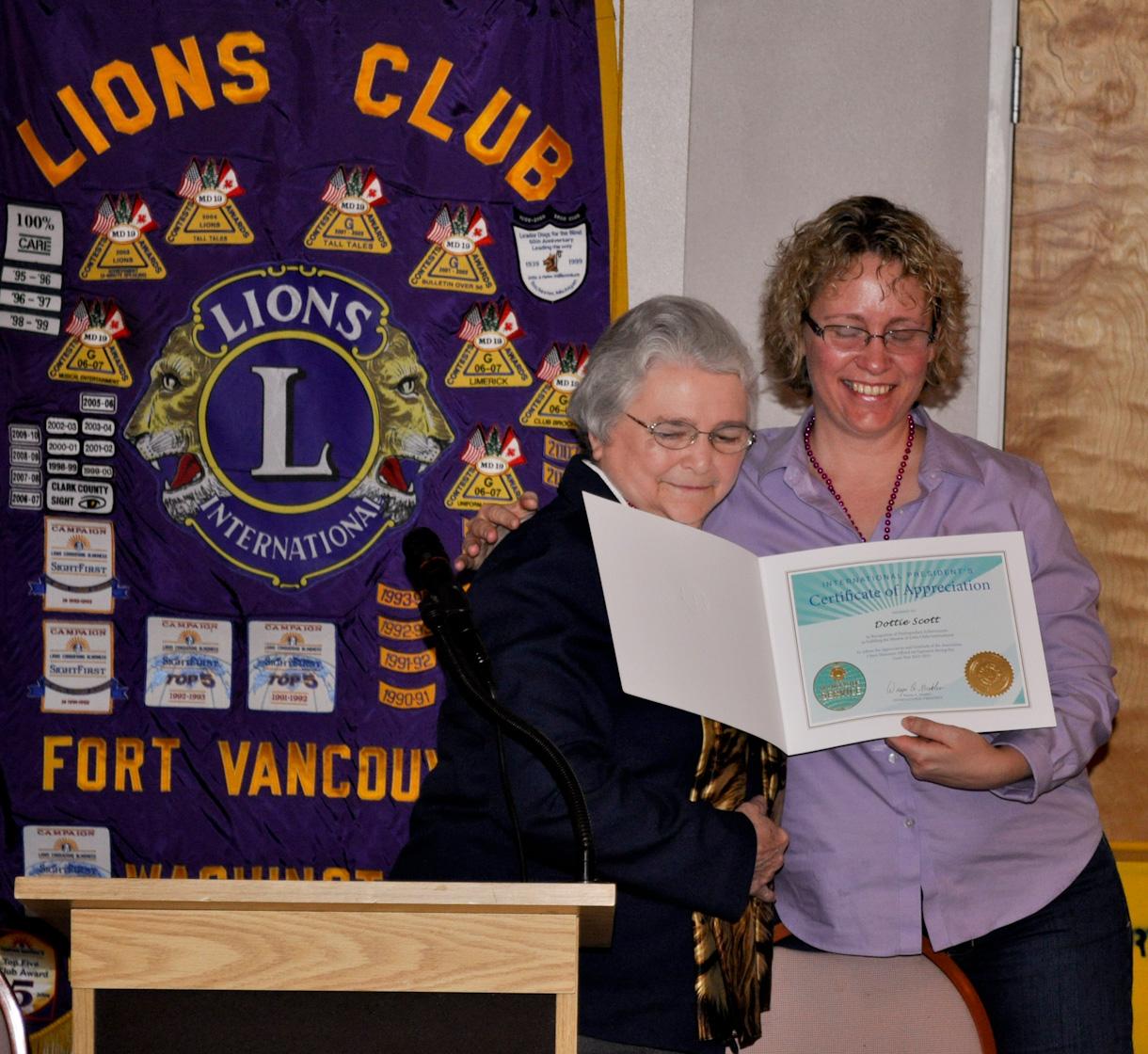 VFV 9 Fort Vancouver Lions